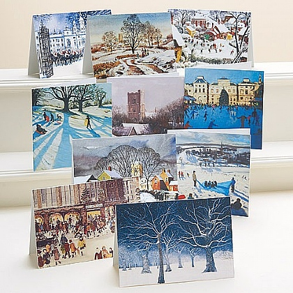 British Winter Cards