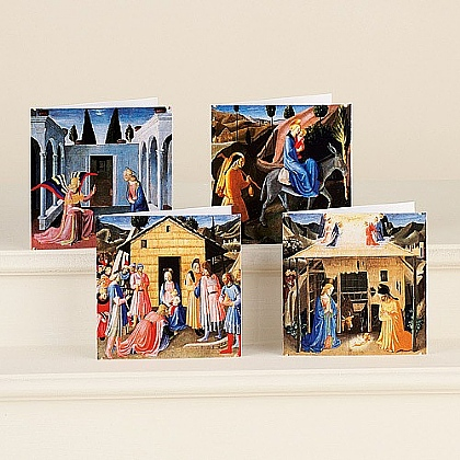 Museum Selection Fra Angelico Holy Story Cards