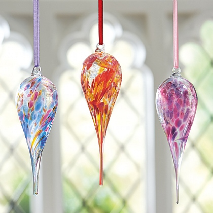 Museum Selection Birth Month Glass Teardrops