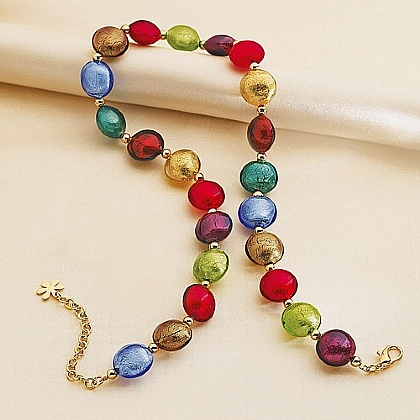 Renaissance Murano Glass Necklace