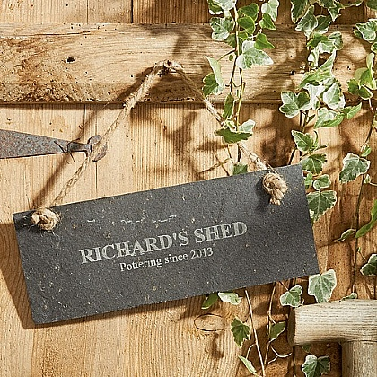 Museum Selection Personalised Slate Plaque