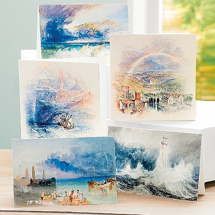 20 Turner Seascape Cards