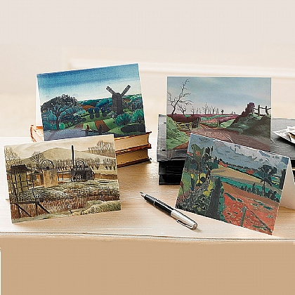 20 British Landscape Artist Cards