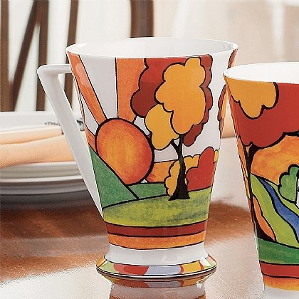 Sunburst Fine Bone China Mug