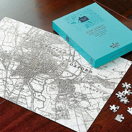 Personalised Victorian Map Jigsaw