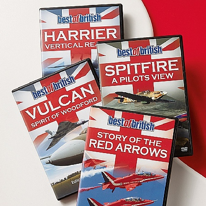 Best of British Aircraft 4-DVD Set