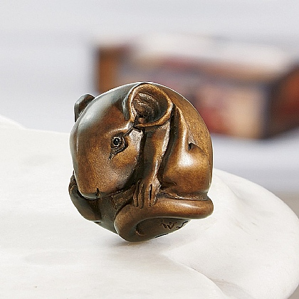 Museum Selection Mouse Netsuke