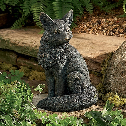 Museum Selection Fox Cub Statue