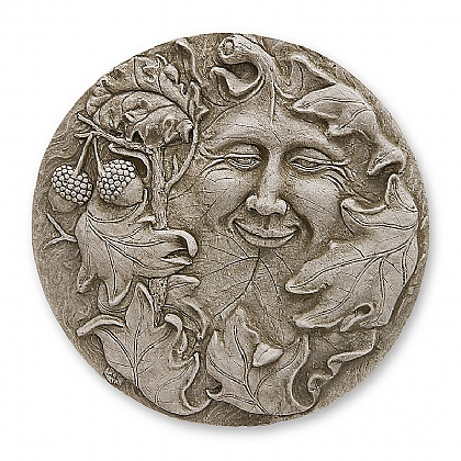 Museum Selection Green Man Plaque