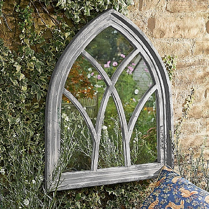 Museum Selection Medieval Arch Window Mirror