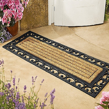 French Door Double Doormat