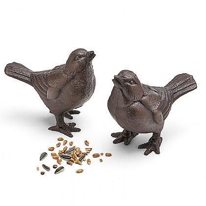 Museum Selection Pair of Sparrows