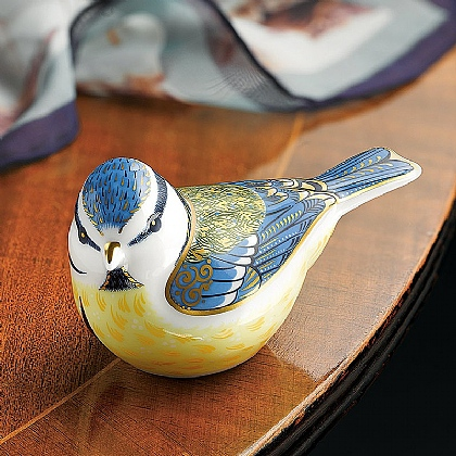 Royal Crown Derby Blue Tit