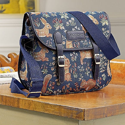 Tapestry Satchel