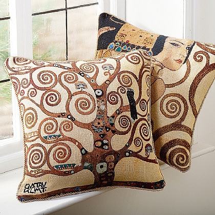 Set of 2 Klimt Cushions