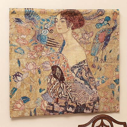 Museum Selection Klimt's Lady with Fan Tapestry