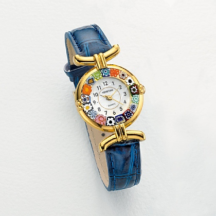 Museum Selection Blue Millefiori Watch