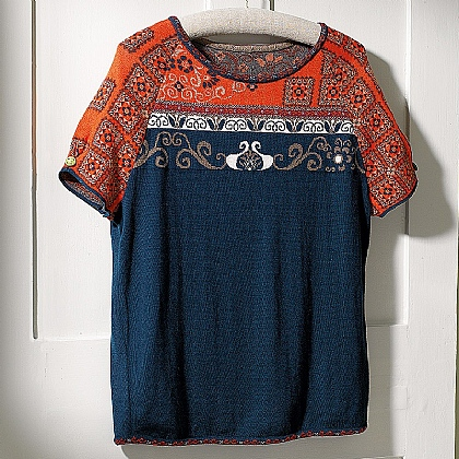 Museum Selection Qing Knitted Top