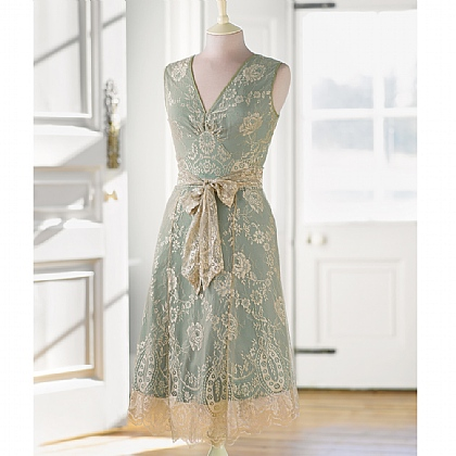 Museum Selection Lace Tea Dress