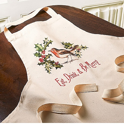 Be Merry Cotton Apron