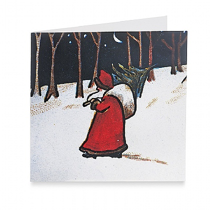 Santa by Moonlight Cards