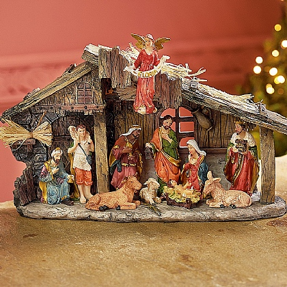 Museum Selection Nativity Scene