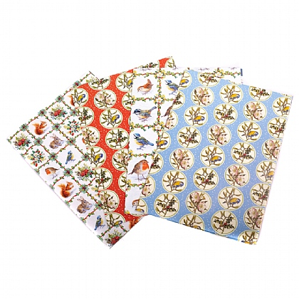 Christmas Trellis Gift Wrap & Tags