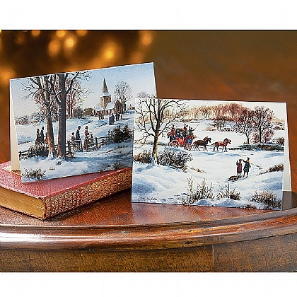 Museum Selection 10 Stanley Cooke Christmas Scene Cards