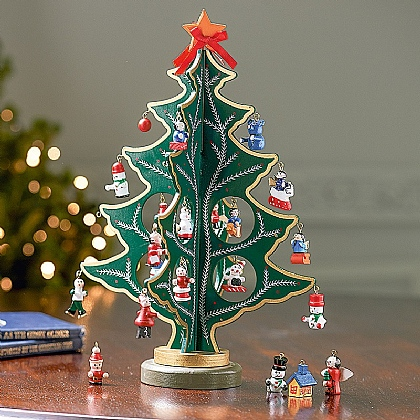 Museum Selection Wooden Advent Tree