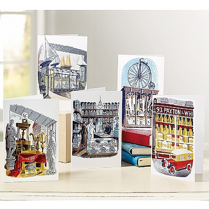 20 Ravilious High Street Cards