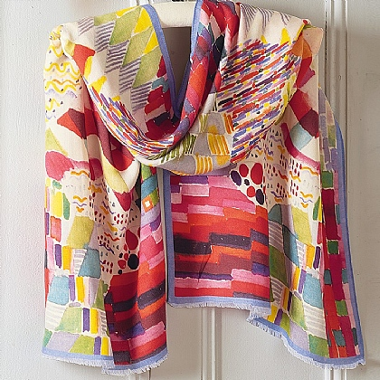 Bauhaus Wool Shawl