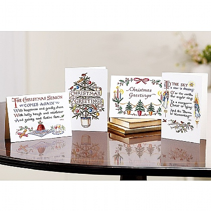 20 Christmas Calligraphy Cards