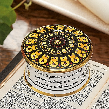 Rose Window Trinket Box