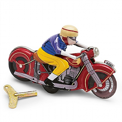Motorcycle Tin Model