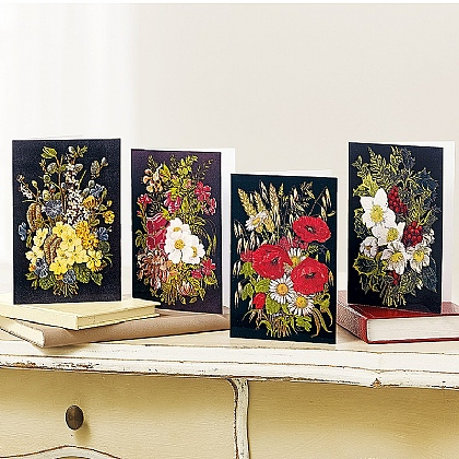Museum Selection 20 Flowers of the Seasons Cards