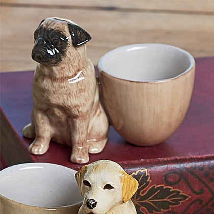 Museum Selection Pug Egg Cup