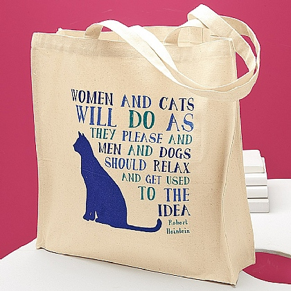 Cats Cotton Tote Bag