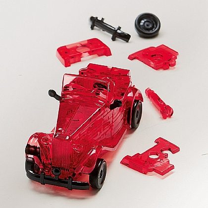 Museum Selection 3-D Roadster Puzzle
