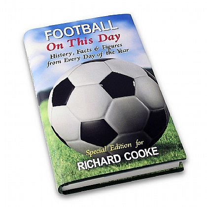 Museum Selection Personalised On this Day book - Football