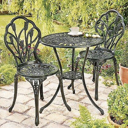Museum Selection Tulips Bistro Set