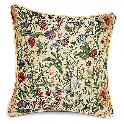 Cottage Flowers Cushion