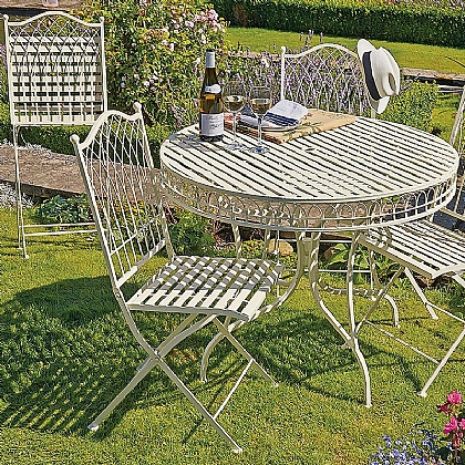 Gothic Garden Dining Furniture