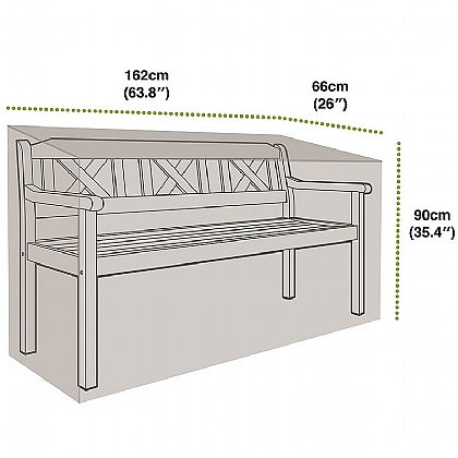 3 Seat Bench Cover