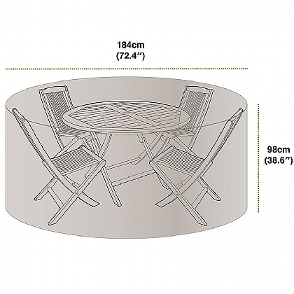 4 Seat Patio Set Cover