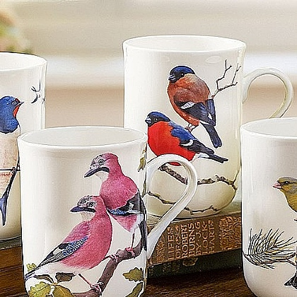 Museum Selection Bullfinches Mug
