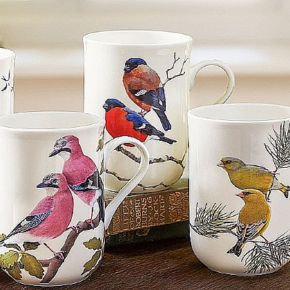 Greenfinches Mug