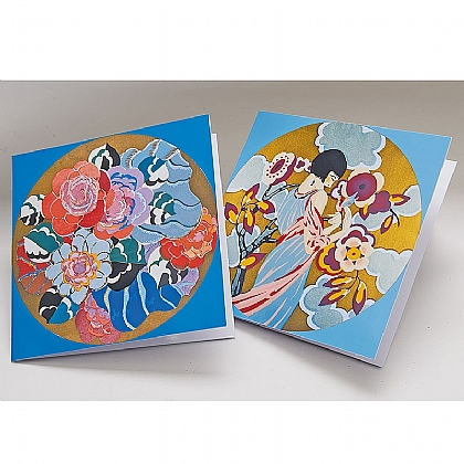 Museum Selection 12 Luxury Finish Deco Cards