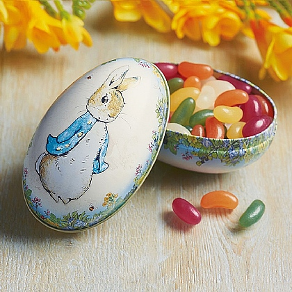 Peter Rabbit Filled-egg Tin