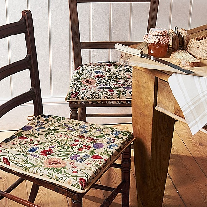 Tapestry Seat Pads