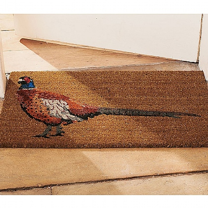 Museum Selection Pheasant Door Mat